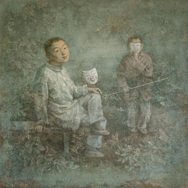 Garden by Wang Gang