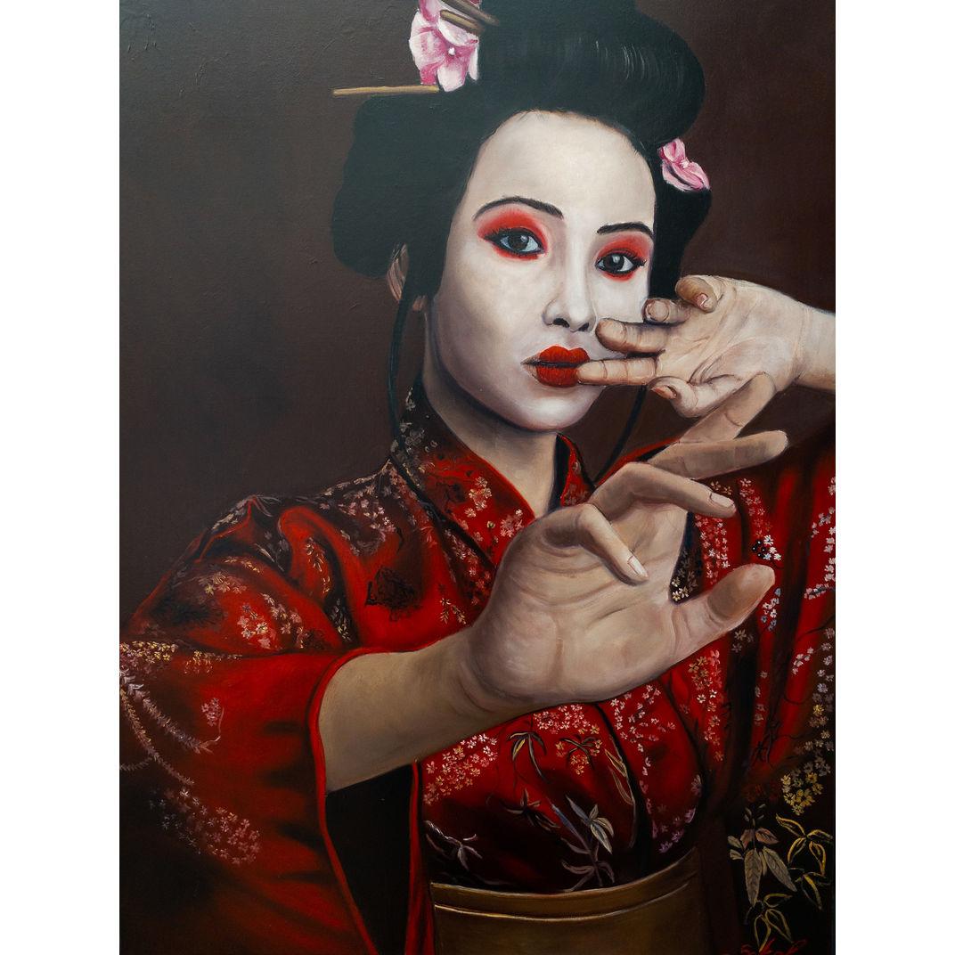 Geisha by Kinga Sokol
