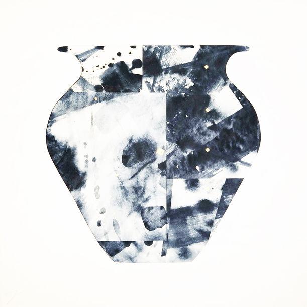 Vessel - Indigo by Jyoti Naoki Eri