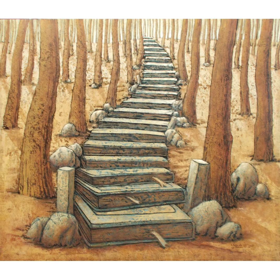 Stairway to Nature by Nugroho Heri Cahyono