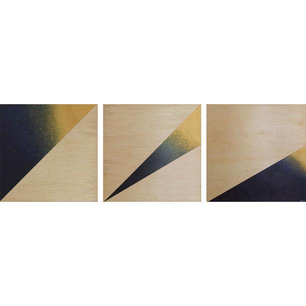 Midnight Gold Star - Fragments by Jau Goh