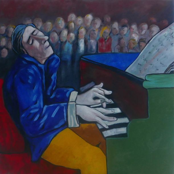 The Concert Pianist by Ta Thimkaeo
