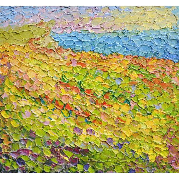 Blossoming steppe by Olga Bezhina