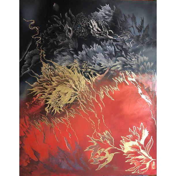Red and black by Ludmila Budanov