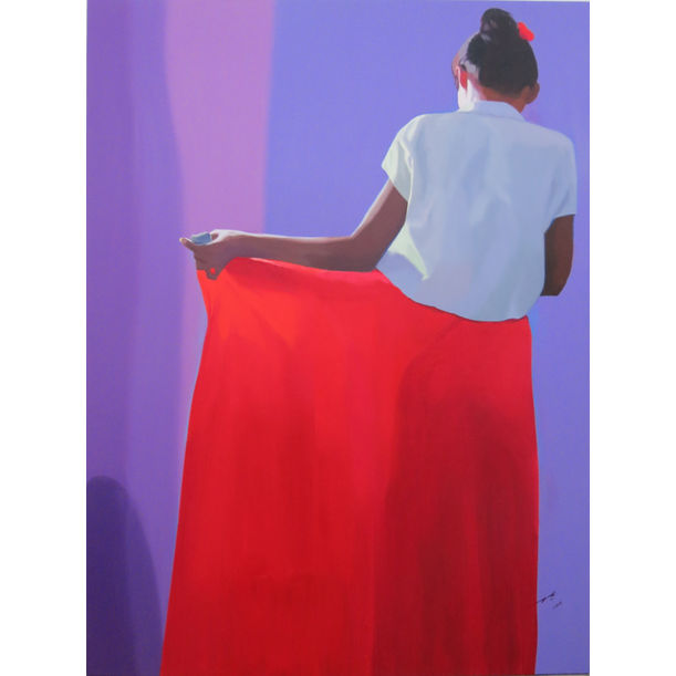 Woman Dressing # 2 by Maung Aw