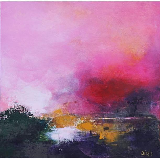 Ciel rose by Marianne Quinzin