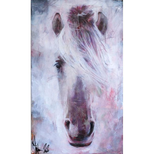 Portrait of old horse by Igor Shulman