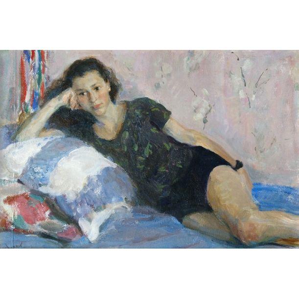 Portrait of Sona by Samir Rakhmanov