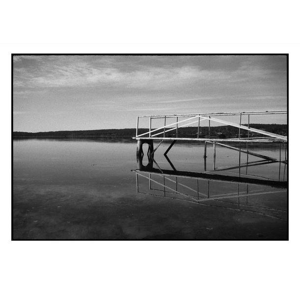Pambula Harbour by Damian Seagar