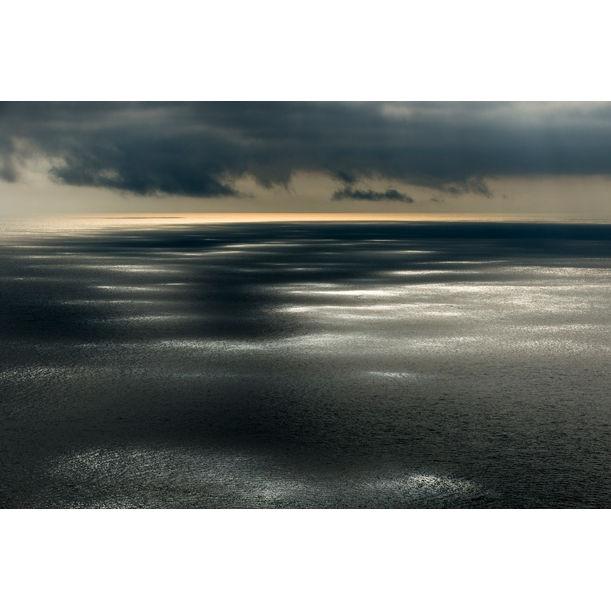 Sunlight dappling North Atlantic Ocean, Hermaness National Nature Reserve, Unst, Shetland Islands, Scotland by James Warwick