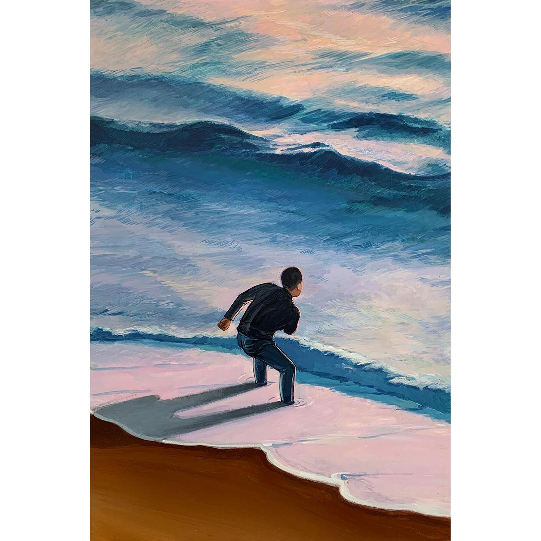 Filling in the sea by Baoyuan Zhu