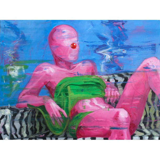 woman on Sofa by Kos Cos
