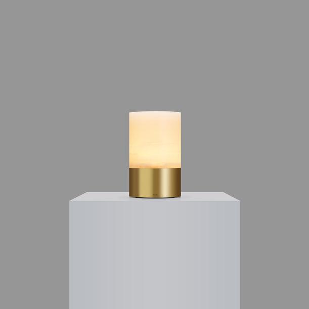 Voltra Totem - Alabaster  - Natural Brass by Voltra