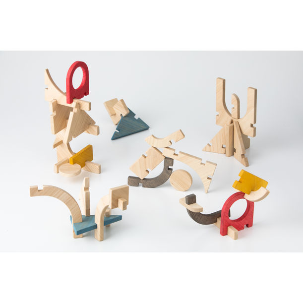 Slot Construction Toy by Takenouchi Webb