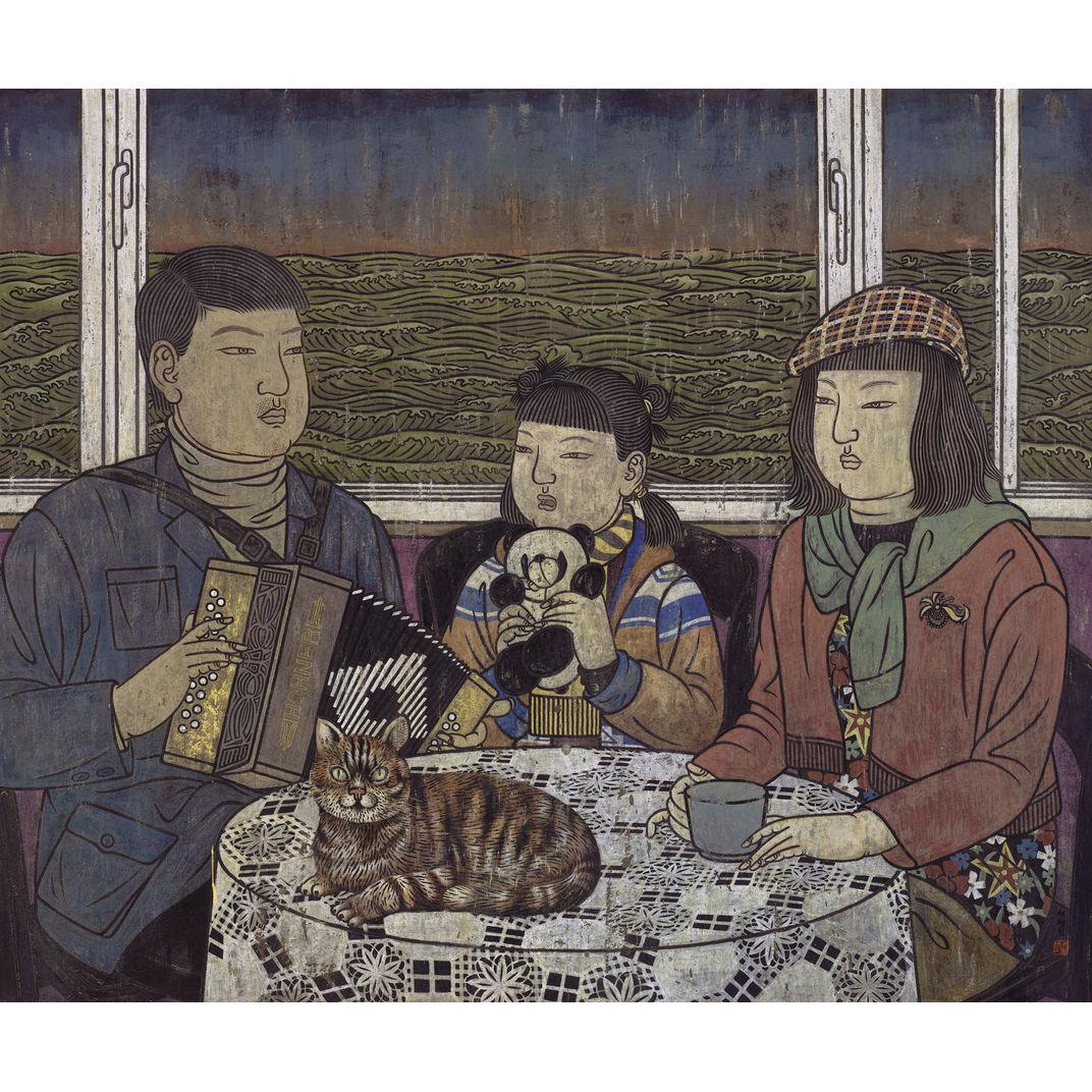 Family Series 7 by He Jian