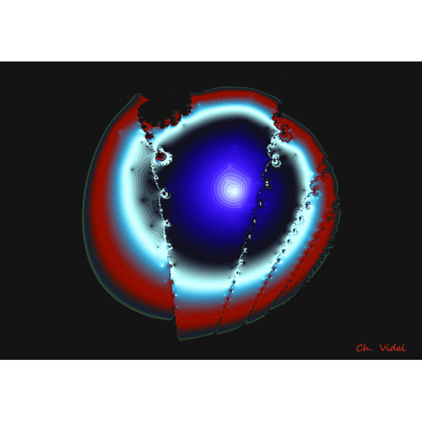Agate bleue by Christian VIDAL