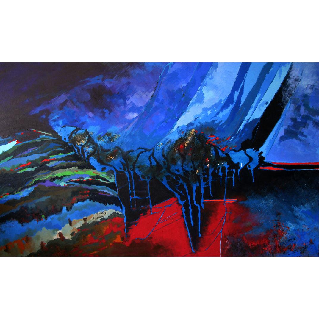 Magical Night by Effat Pourhasani