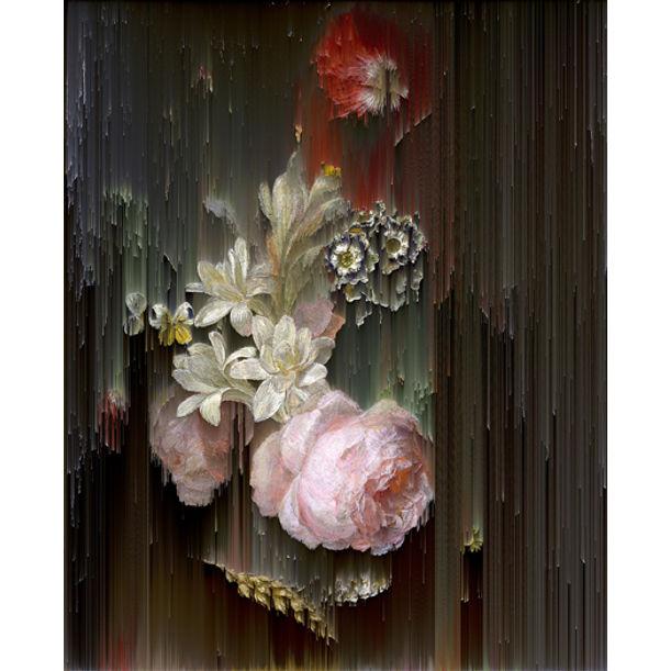 Flower Piece (after Moise Jaccober) by Gordon Cheung
