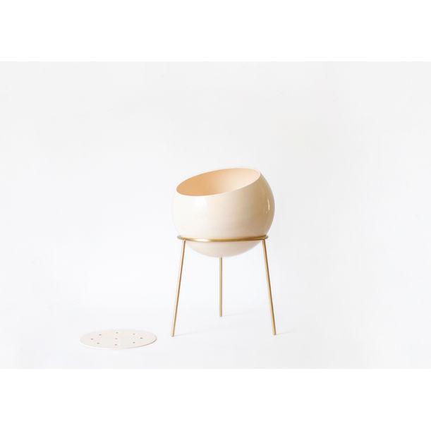 Globe Planter Maxi / Powder Pink by Kitbox Design