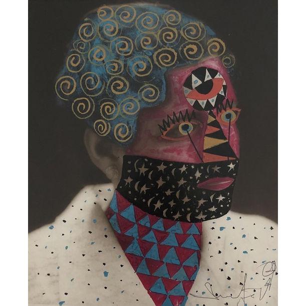 Galaxy Brain by Leobardo Huerta