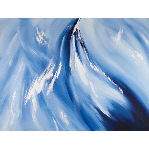 Blue Boreas Rising by Jane Peng