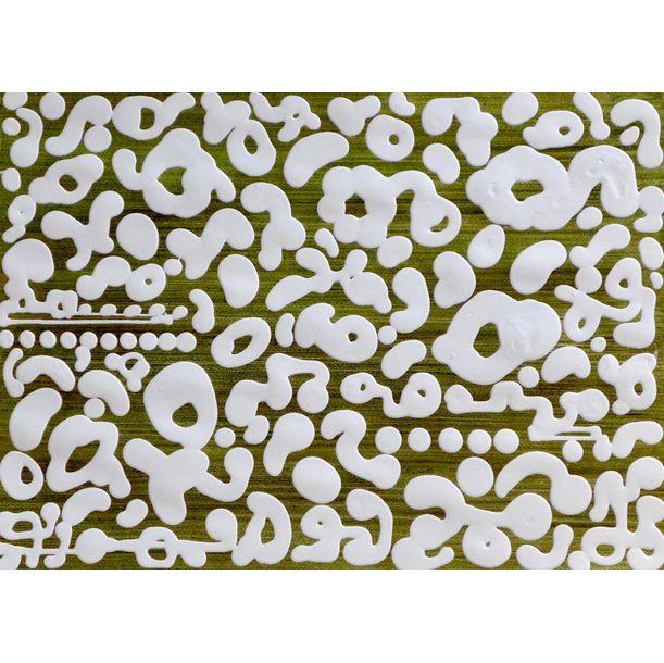 Template White Metallic Gold by Colin McCallum