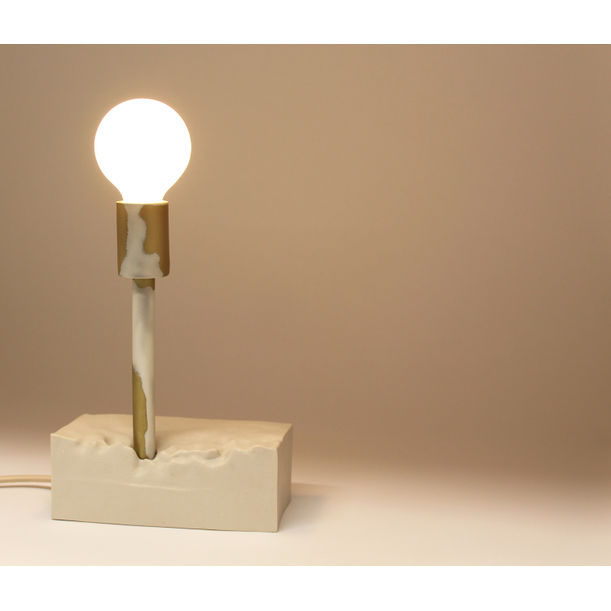Soft Weather Table Lamp by Hayden Richer
