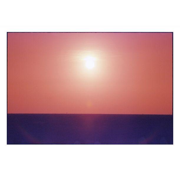 Sunrise and Film Damage by Damian Seagar