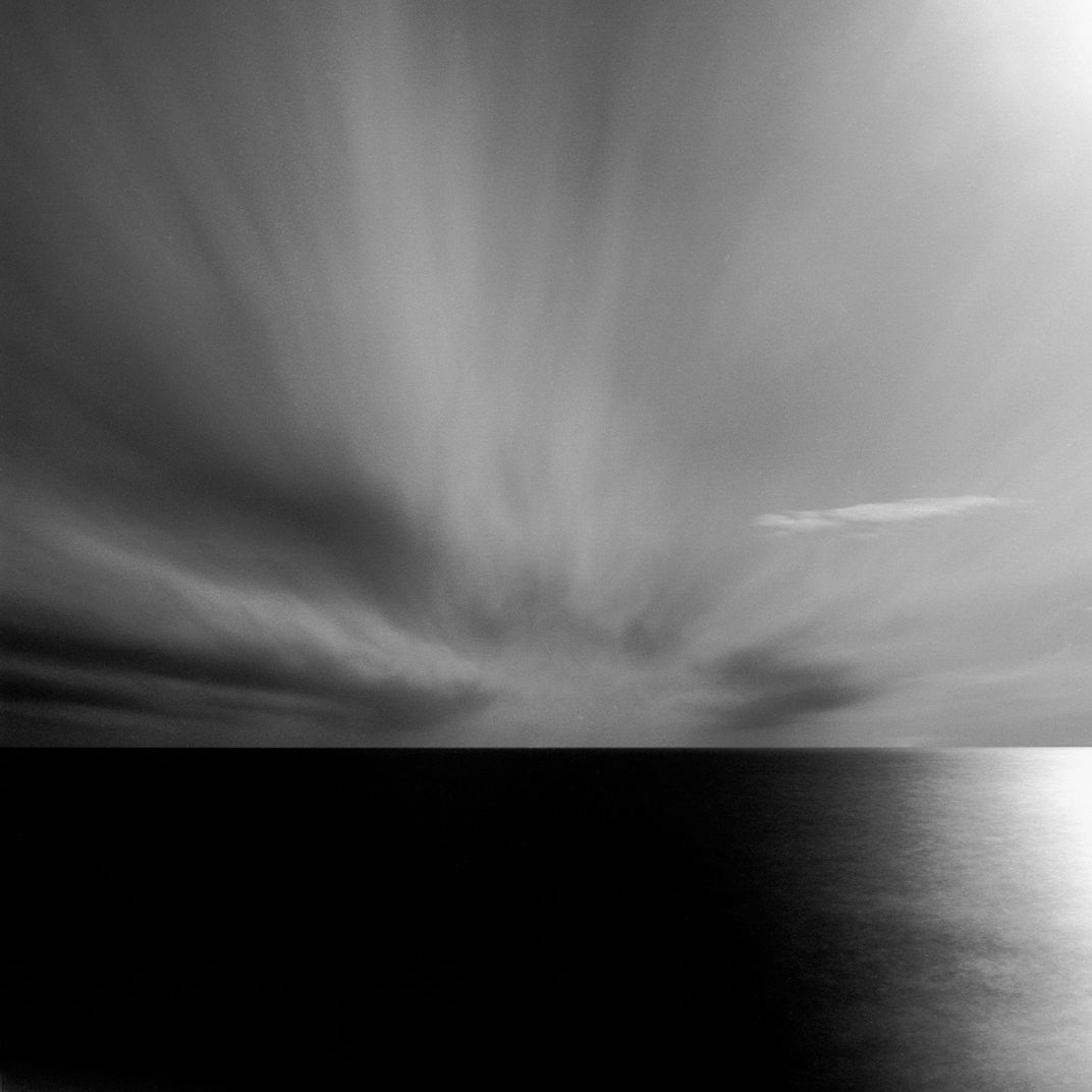 Clouds Over The Long Island Sound by Adam Garelick