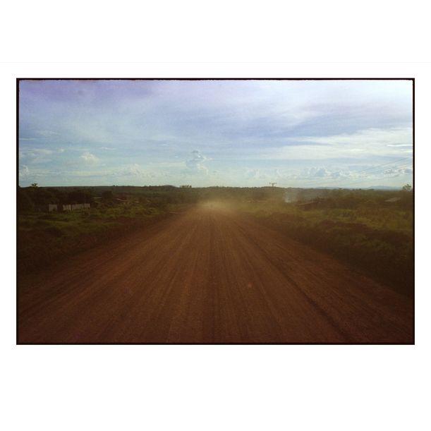 Ban Lung Dirt Road by Damian Seagar