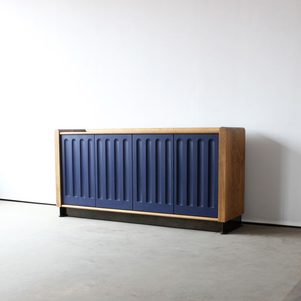 Arcade Media Console Cabinet by Crump and Kwash