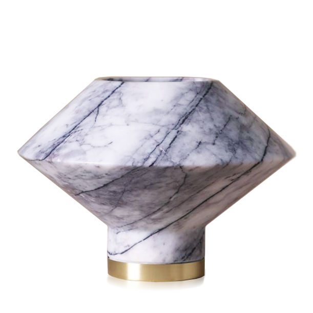 Orbit Marble Vase by KONSTANTIN