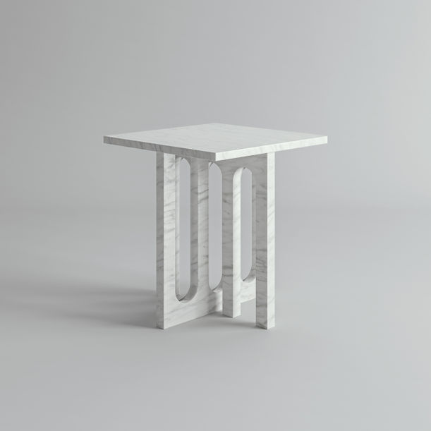 Enigma Side Table by 3DD Factory Atelier