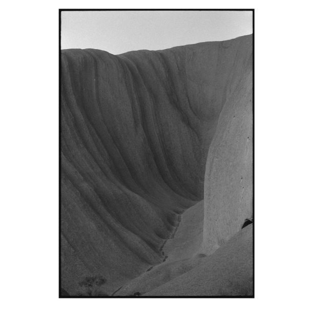 Uluru Side Detail by Damian Seagar