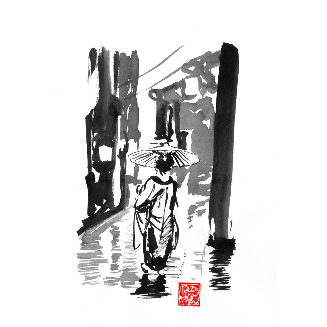 rainy day by péchane