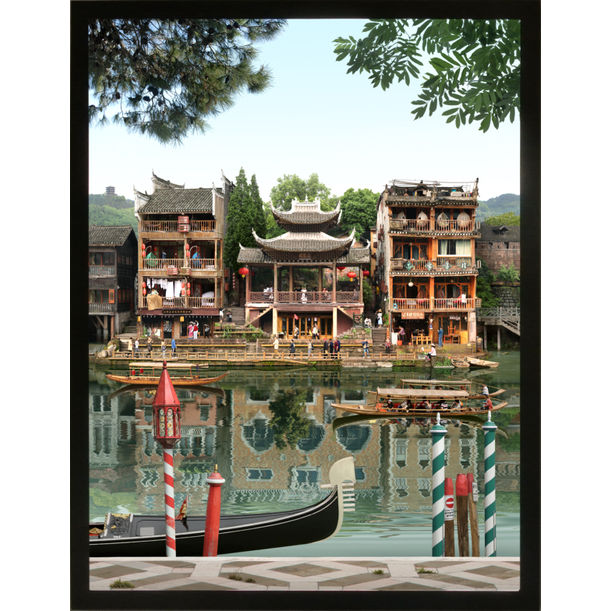 Mirrored Cities I by Emily Allchurch