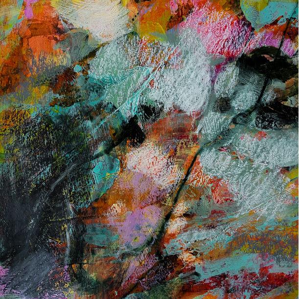 Like an impressionistic garden by Fabienne Monestier