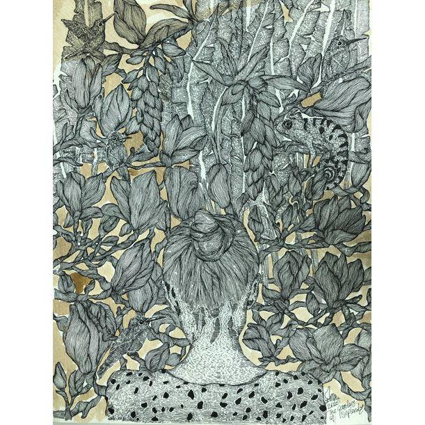 artnouveau / the gardens of seplendor no:17 by Erna Ucar
