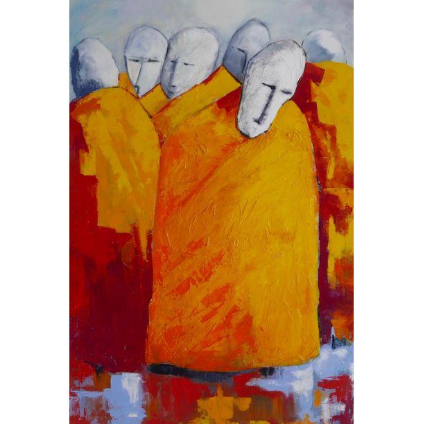 The Monks by Ta Thimkaeo