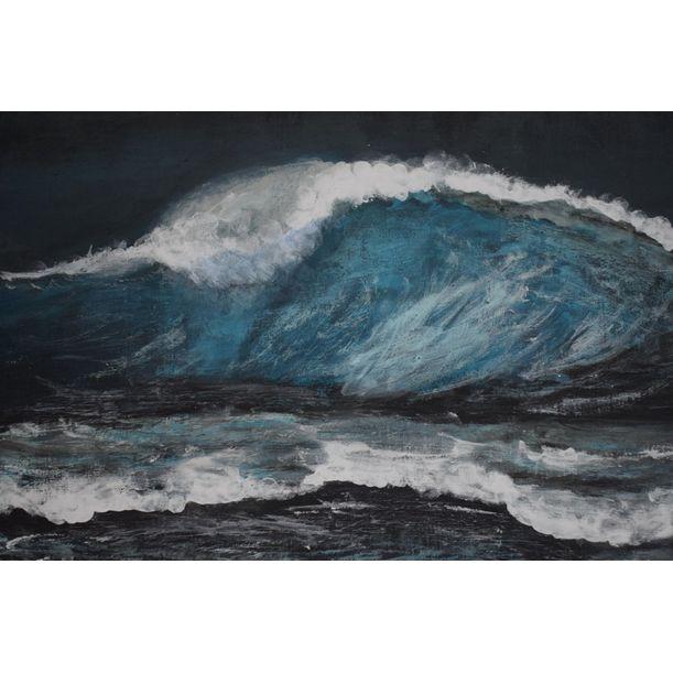 Night waves by Ayesha Nazneen