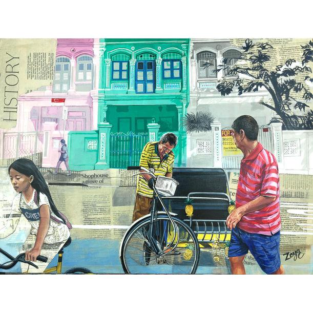 Hues of Koon Seng Rd by Zoya Chaudhary
