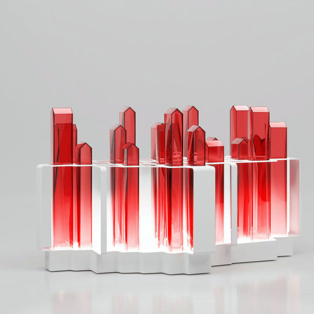 H U T O N G in RED permanent environment cleansing illumination by S  U  G  O