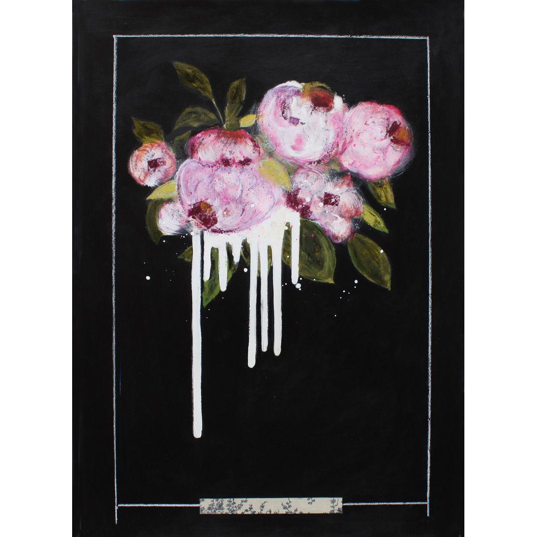Dripping pink by Karenina Fabrizzi