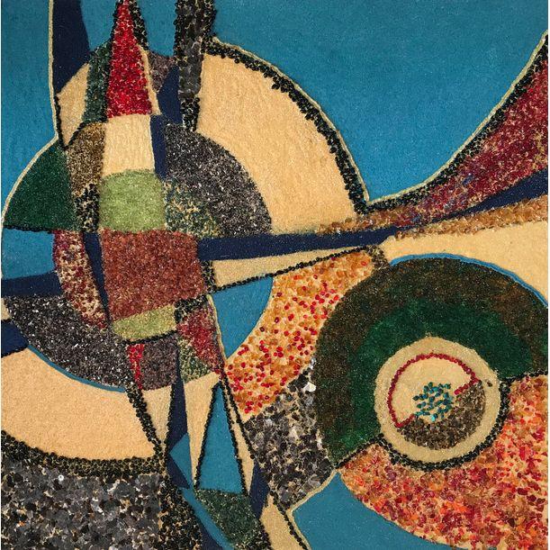 Geometry. Collage by Diana Malivani