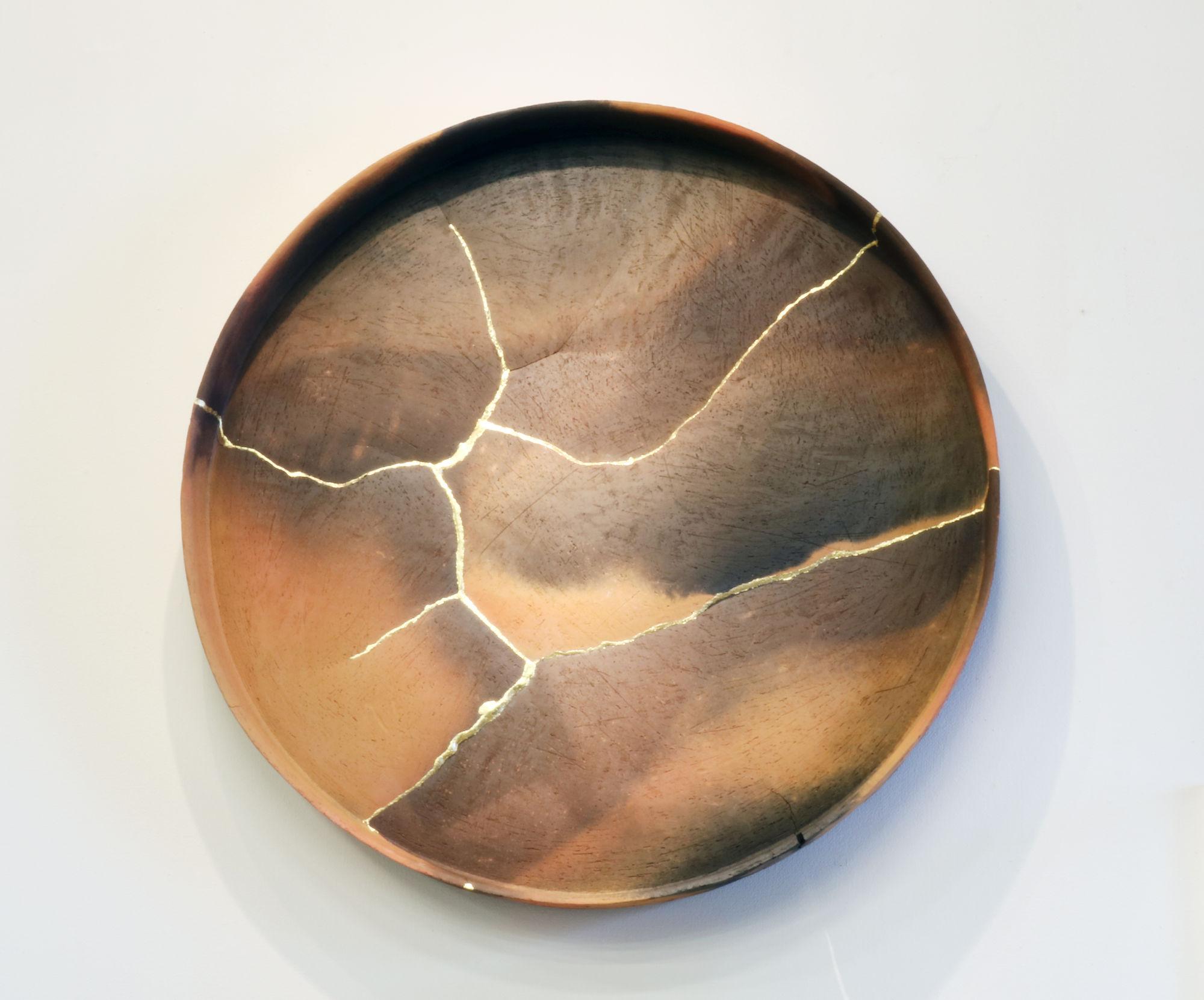 Art Metal-like Masterpieces by Tomonari Hashimoto - Red Circle ceramic Ceramic Art Metal-like Masterpieces by Tomonari Hashimoto e5ce76197b9a4f6fab15bd387d018c28