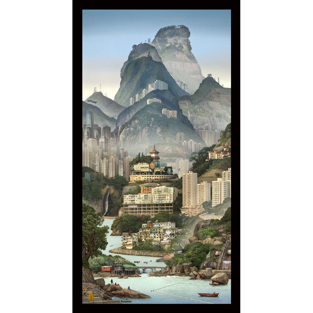 Solitary Temple Hong Kong by Emily Allchurch