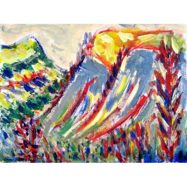 Mountain by Chiho Yoshikawa