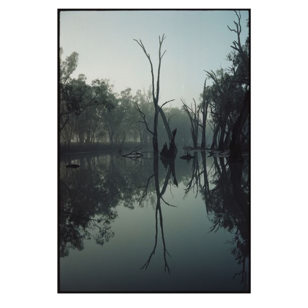 Broken Creek Reflection #1 by Damian Seagar