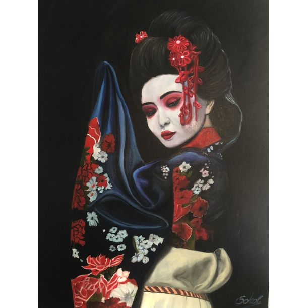 Geisha by Kinga Sokol