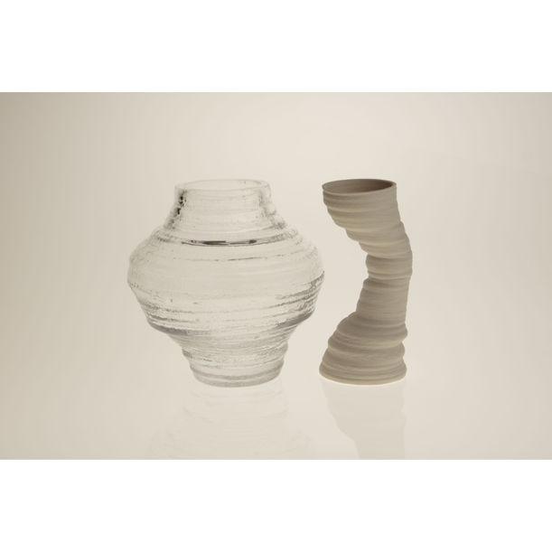 DUO TORNADO Vase by CAI Yisha